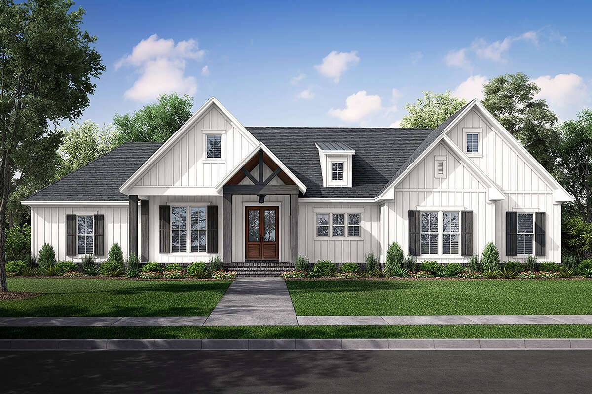 Modern Farmhouse Plan 041-00234