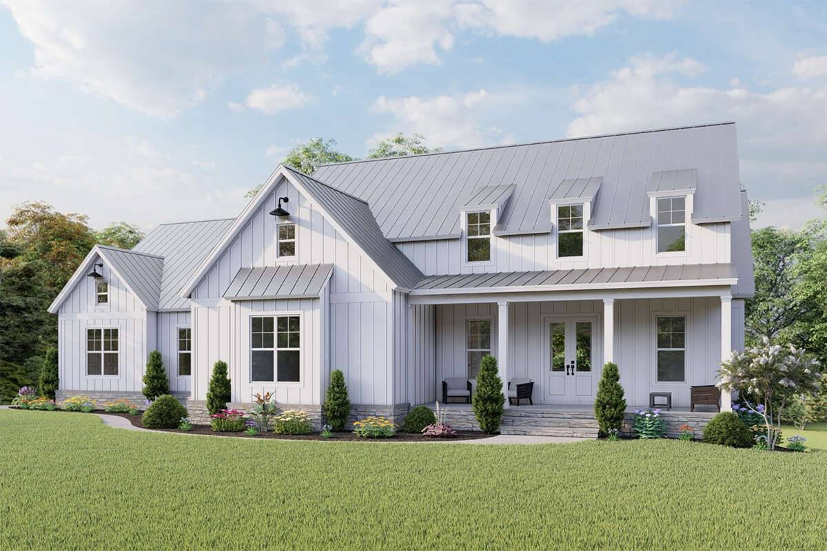 Modern Farmhouse Plan 699-00284
