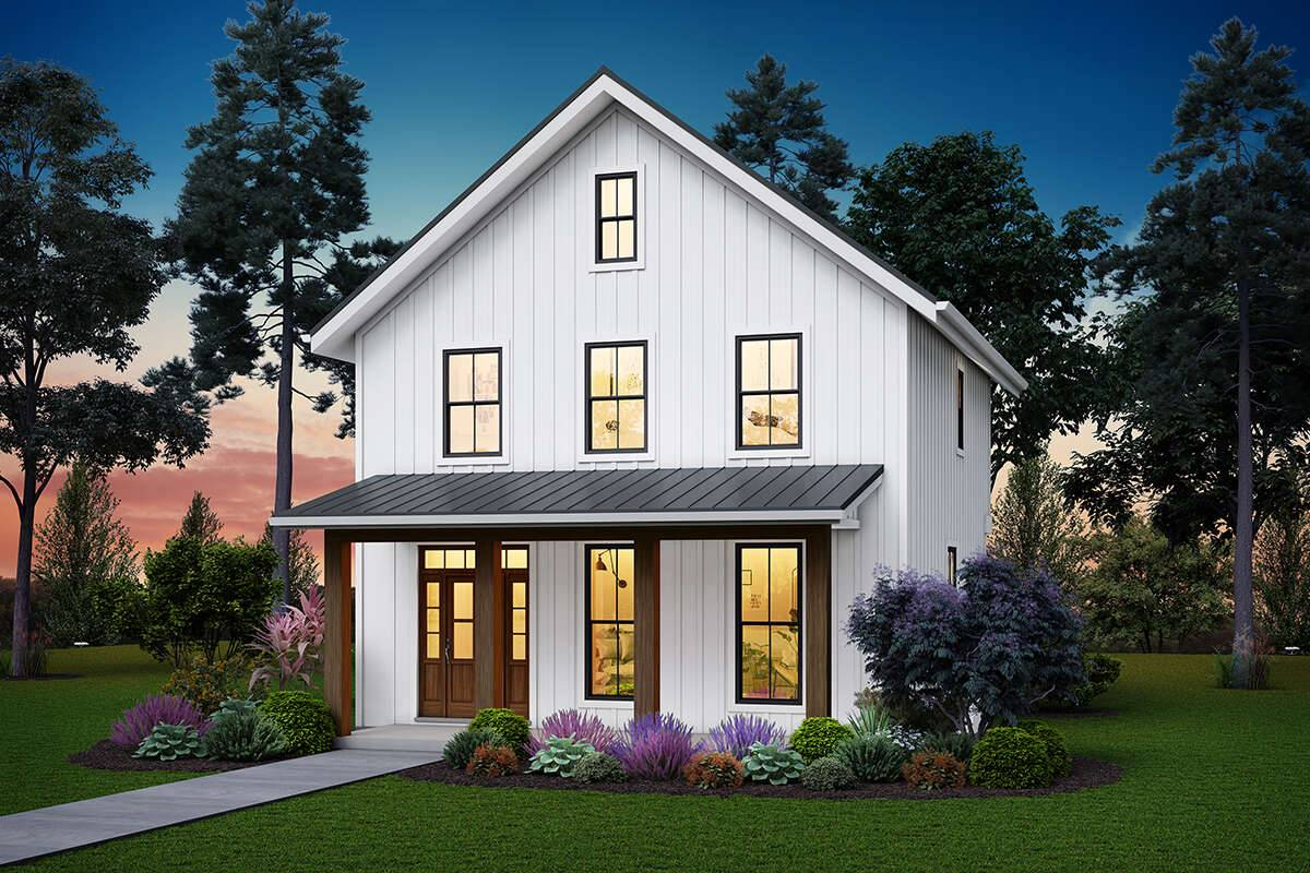 Modern Farmhouse Plan 2559-00849