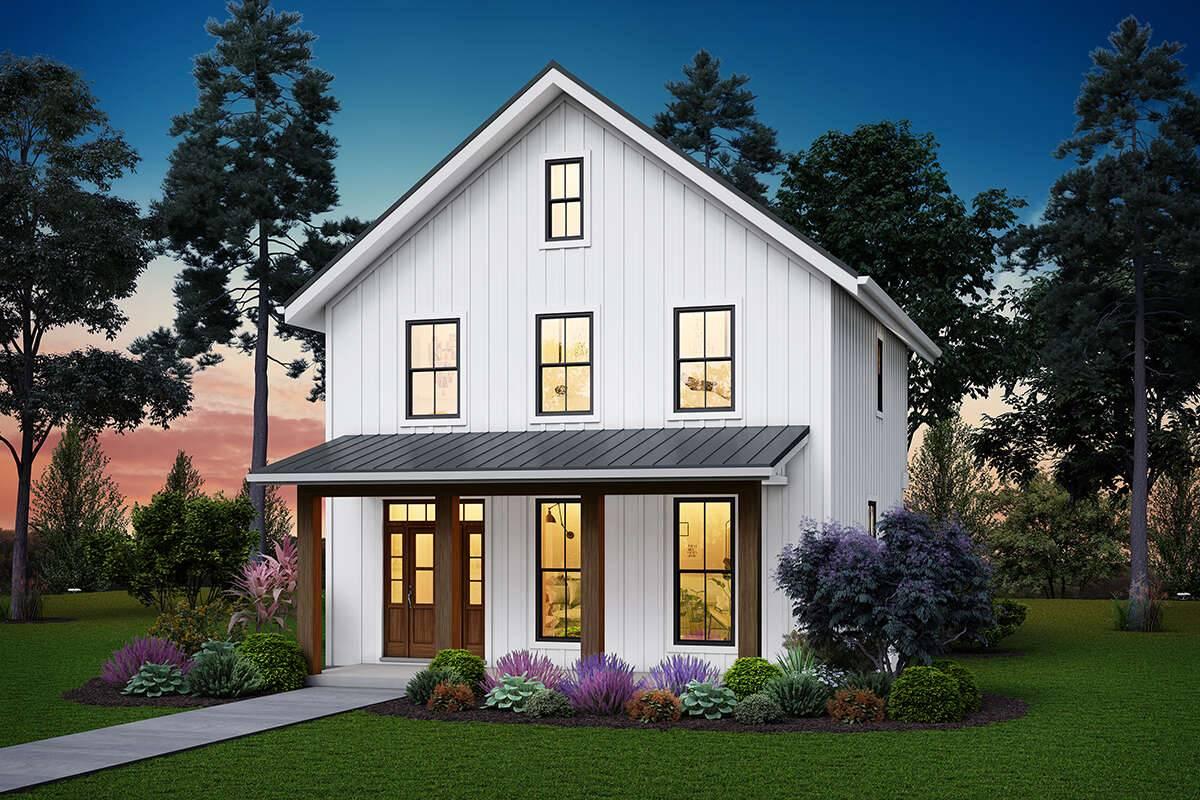 Modern Farmhouse Plan 2559-00849