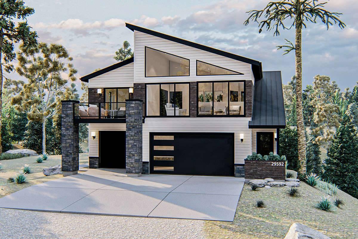 Modern Farmhouse Plan 963-00427