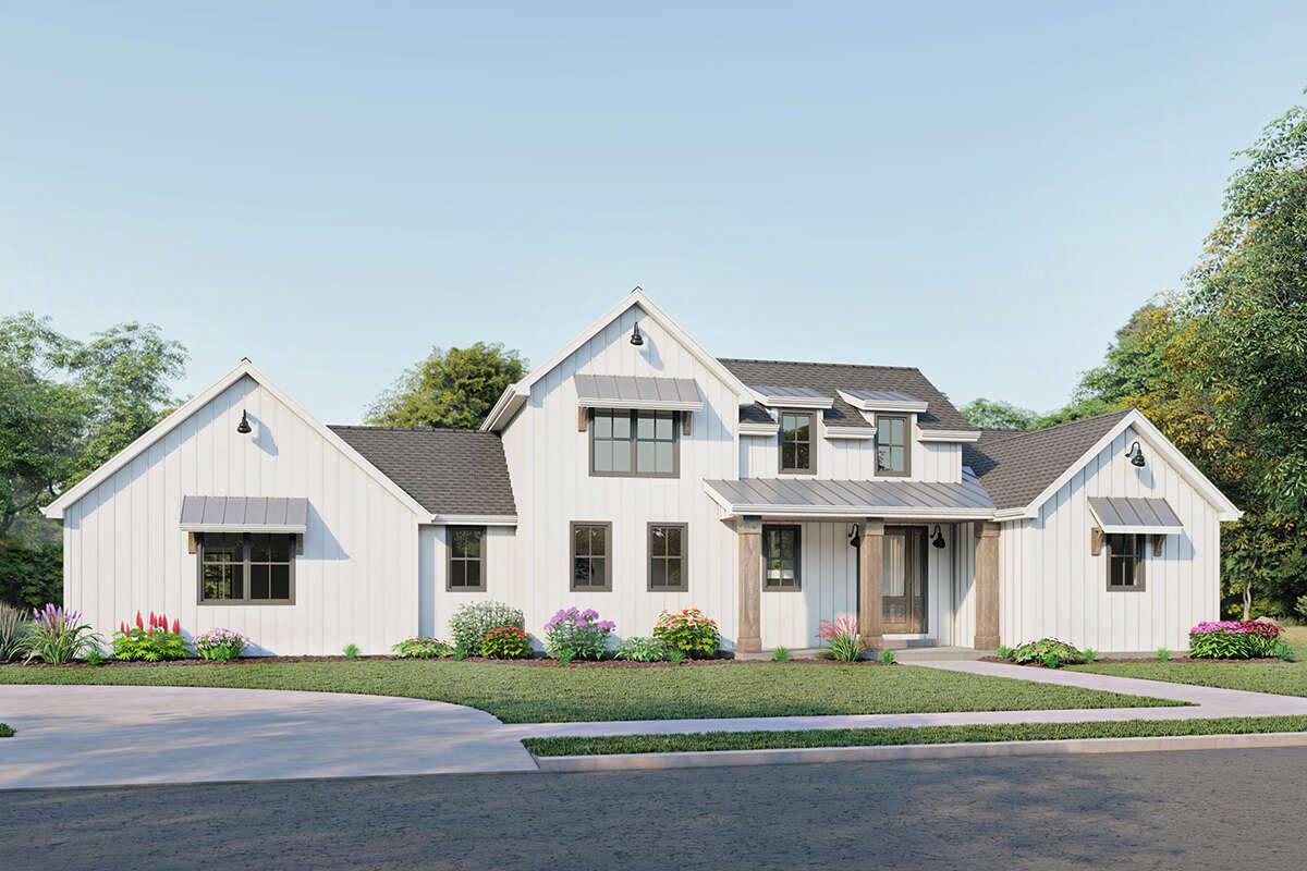 Modern Farmhouse 1462-00026