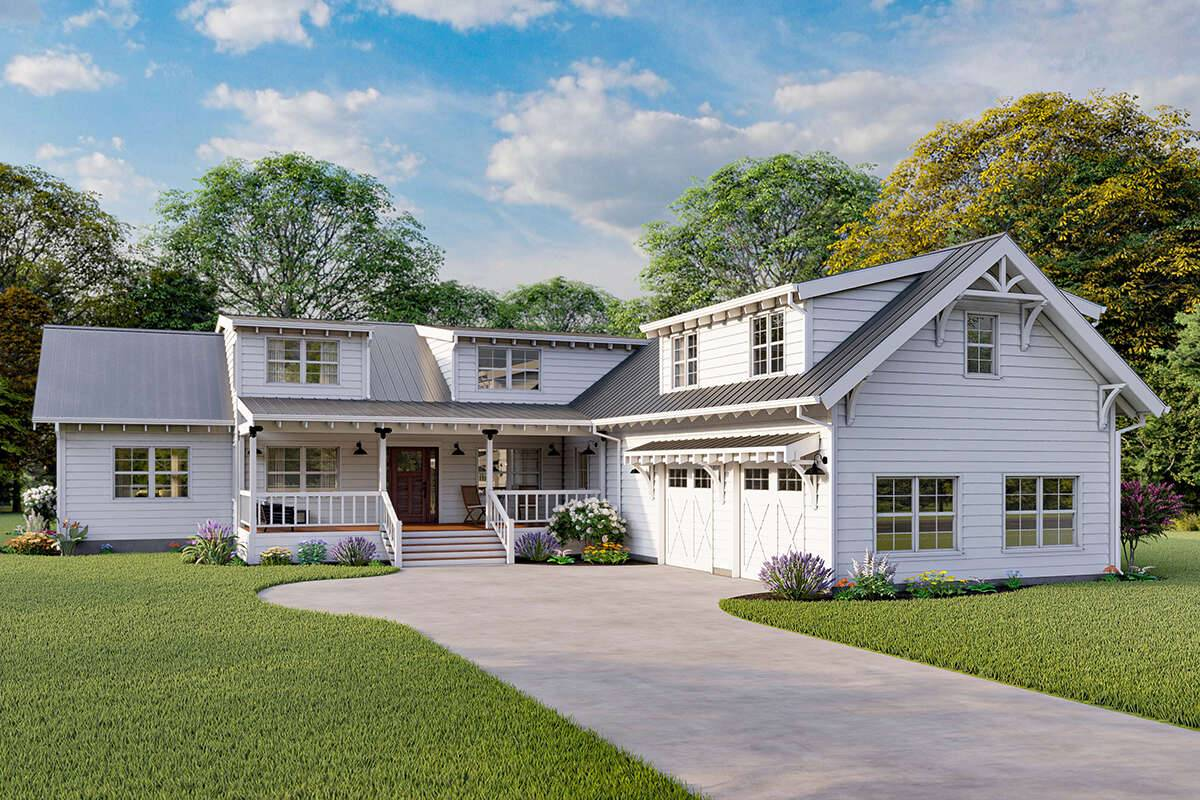 Modern Farmhouse 862-00001