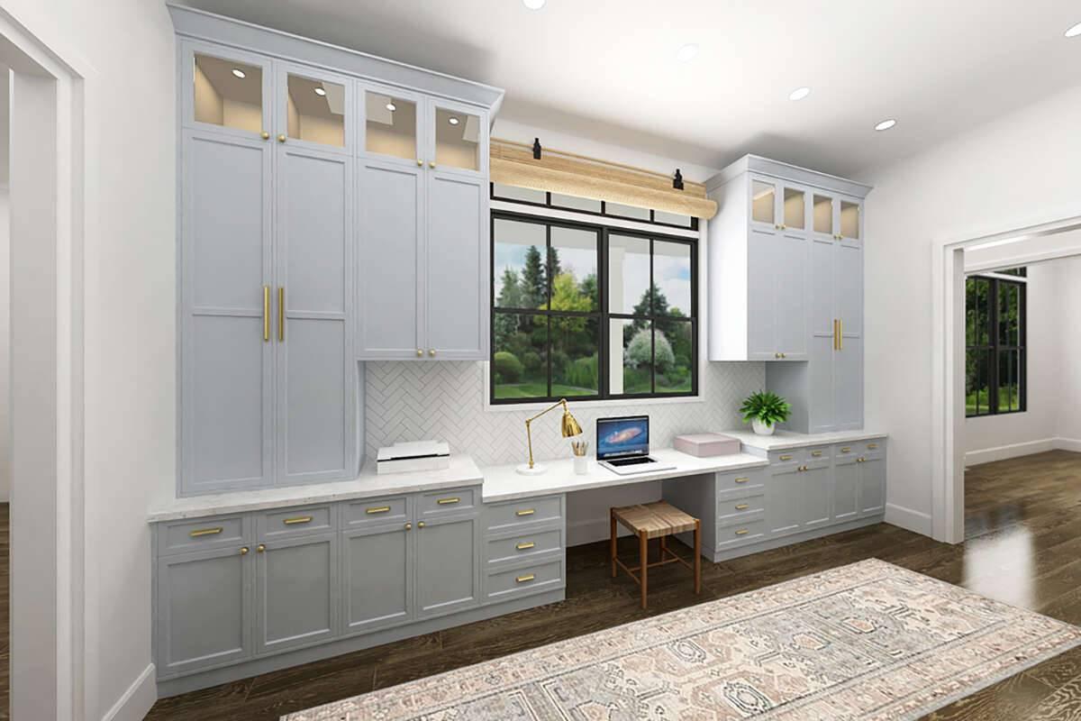 Modern Farmhouse 4195-00039 Office