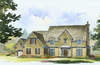 4 Bed, 3 Bath, 3790 Square Foot House Plan #1637-00084