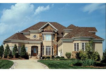 Traditional plan 3 757 square feet 4 bedrooms 3 5 for House plans 4000 to 5000 square feet