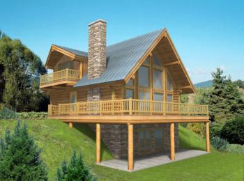 Log plan 2 057 square feet 3 bedrooms 3 bathrooms 039 for Www houseplans net