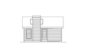 Cottage plan 576 square feet 1 bedroom 1 bathroom for 576 sq ft floor plan