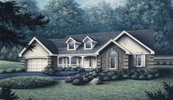 4 Bed, 2 Bath, 1791 Square Foot House Plan #5633-00066