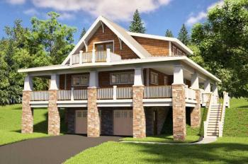 3 Bed, 2 Bath, 2161 Square Foot House Plan #7806-00006
