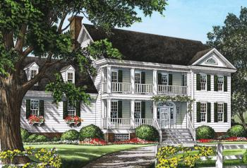 3 Bed, 2 Bath, 2378 Square Foot House Plan #7922-00135