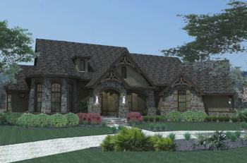 3 Bed, 2 Bath, 2595 Square Foot House Plan #9401-00015