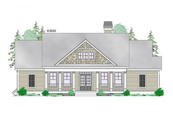 1 Bed, 1 Bath, 1465 Square Foot House Plan #957-00064