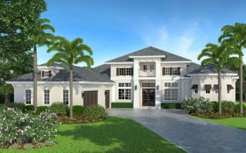 4 Bed, 4 Bath, 4004 Square Foot House Plan #5565-00014