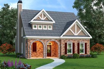 4 Bed, 2 Bath, 2021 Square Foot House Plan #009-00042