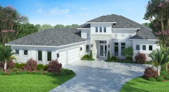 4 Bed, 4 Bath, 3591 Square Foot House Plan #207-00031