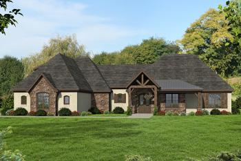 3 Bed, 2 Bath, 2700 Square Foot House Plan #940-00009