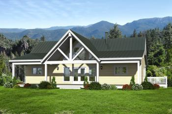 2 Bed, 2 Bath, 1500 Square Foot House Plan #940-00018