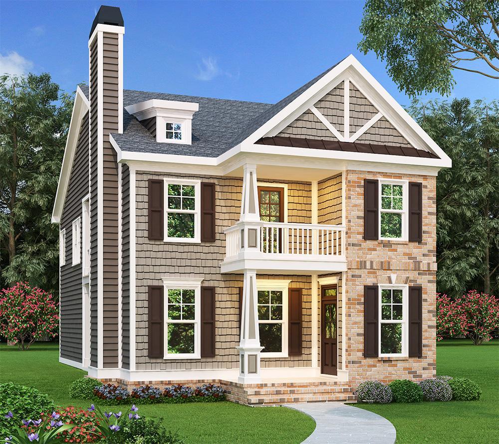 Craftsman Plan 1 785 Square Feet 3 Bedrooms 2 5