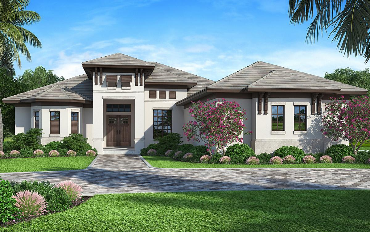4 Bed, 3 Bath, 2562 Square Foot House Plan #207-00062