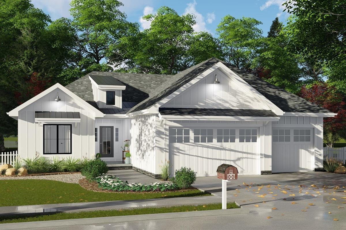 1001-1500 Square Feet House Plans | 1500 Square Home Designs