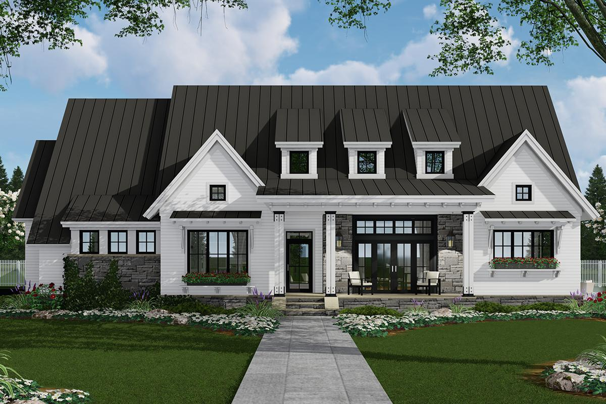 One Story House Designs | Ranch Floor Plans on