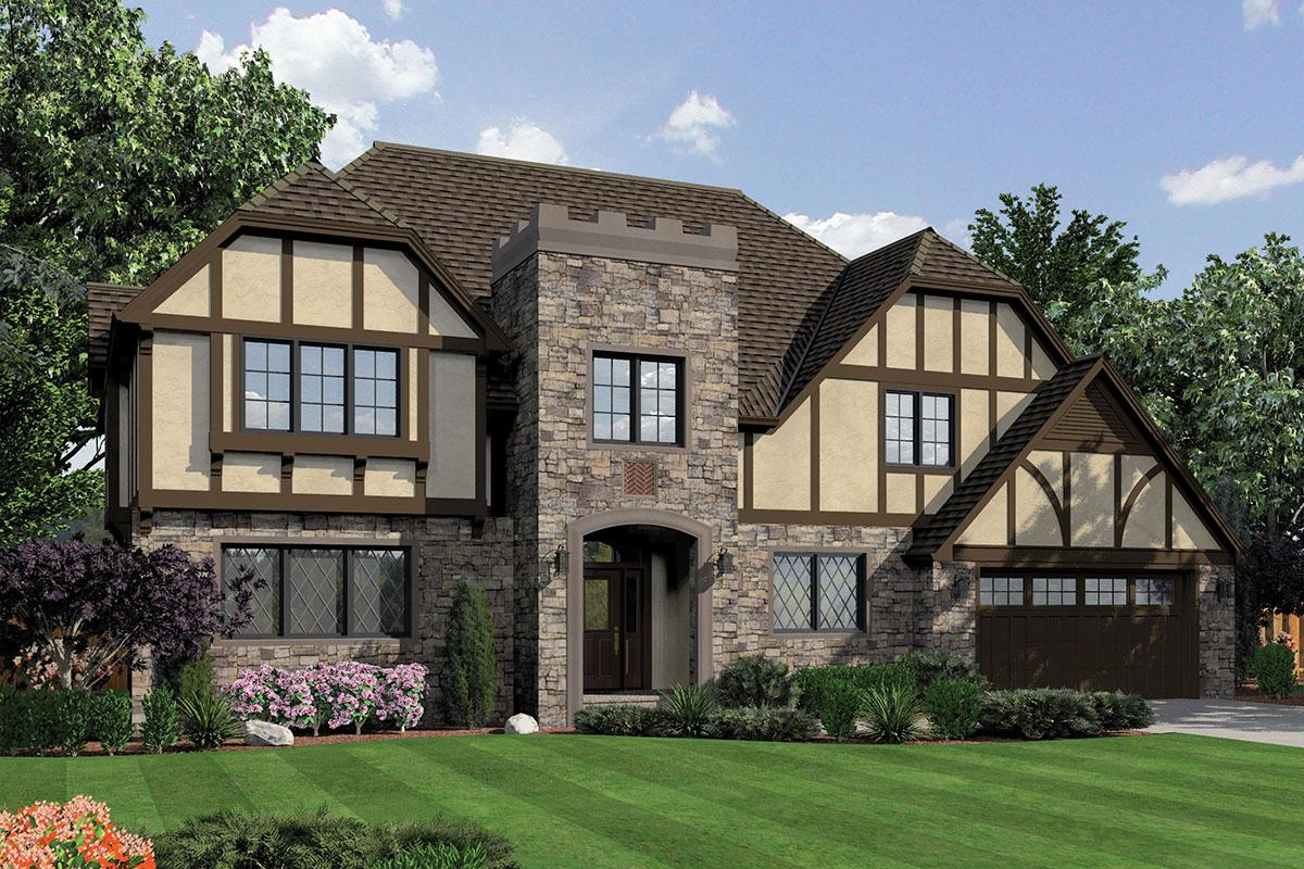 3 Bed, 3 Bath, 3560 Square Foot House Plan #2559-00802