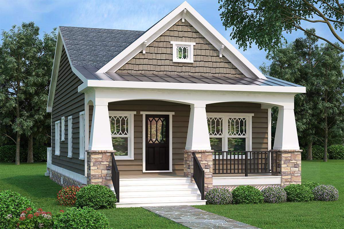 Narrow Lot Home Plans | America's Best House Plans