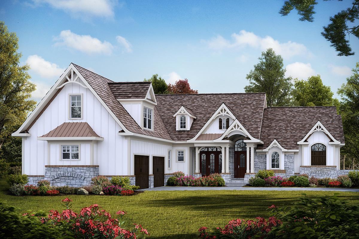 3 Bed, 3 Bath, 2795 Square Foot House Plan #699-00163