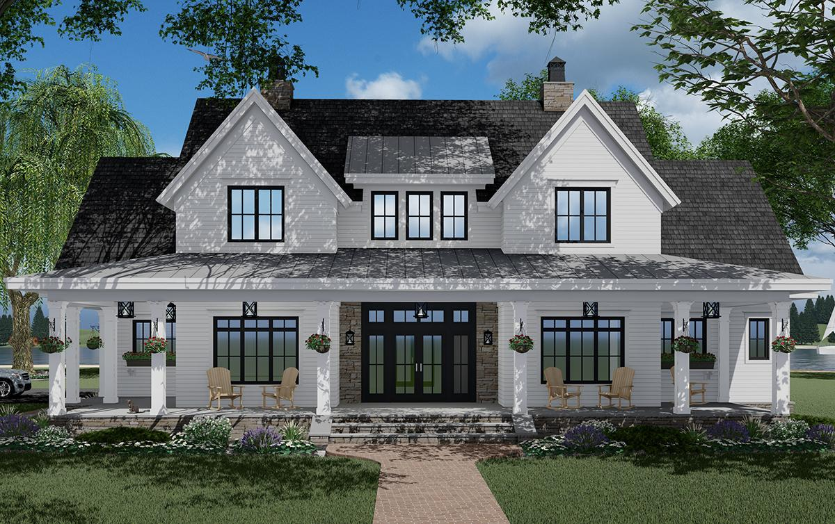 3 Bed, 3 Bath, 2570 Square Foot House Plan #098-00317