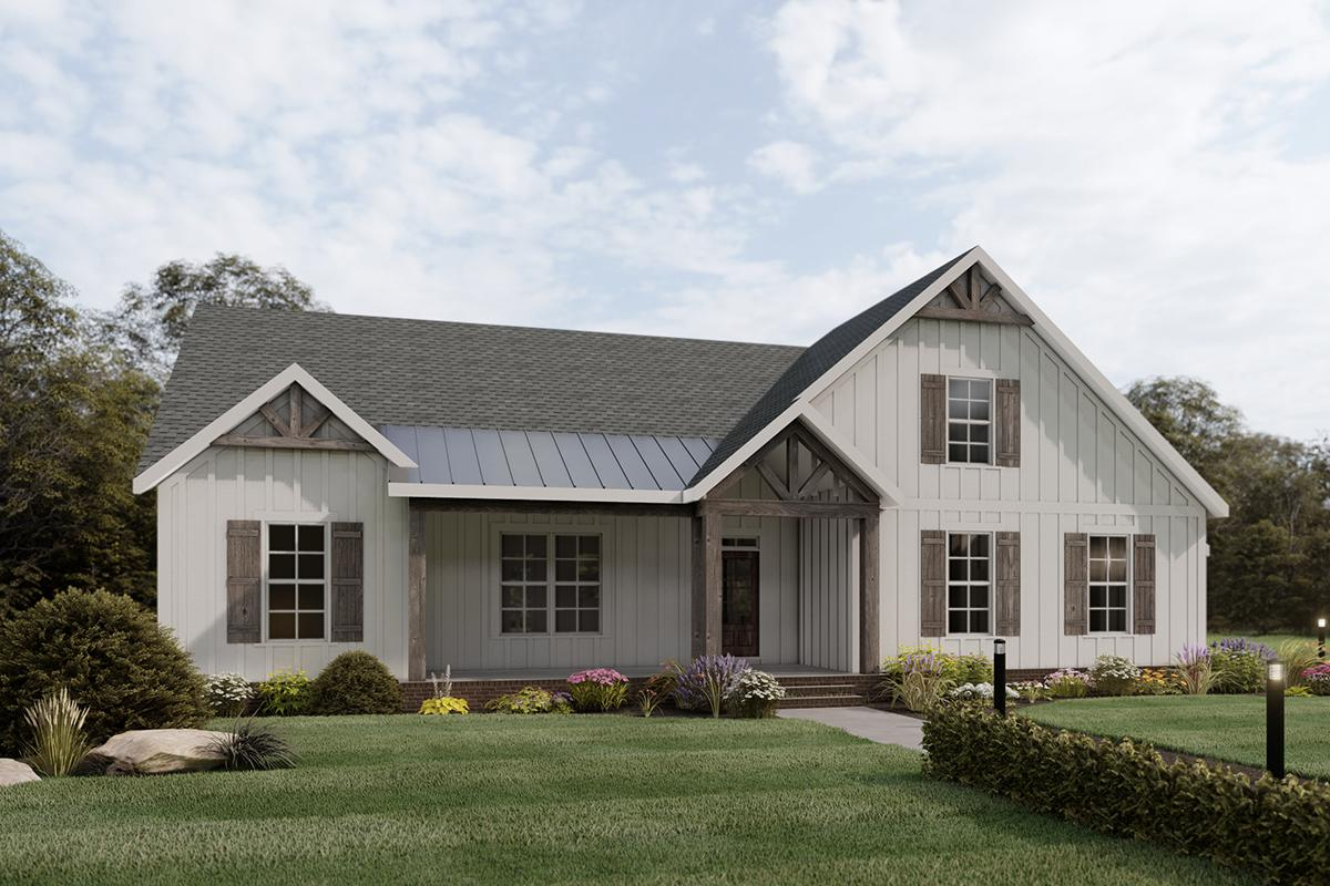 3 Bed, 2 Bath, 1945 Square Foot House Plan #009-00288