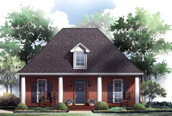 Narrow lot plan 1 650 square feet 3 bedrooms 2 for Charleston house plans narrow lots