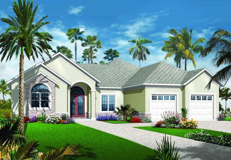 3 Bed, 2 Bath, 2415 Square Foot House Plan - #034-00207