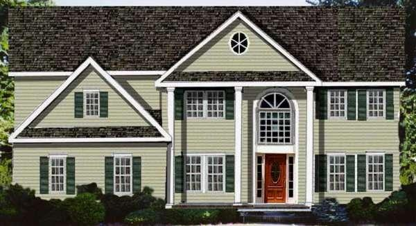 4 Bed, 3 Bath, 3674 Square Foot House Plan - #033-00129