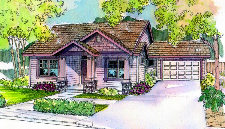 3 Bed, 2 Bath, 1688 Square Foot House Plan - #035-00080