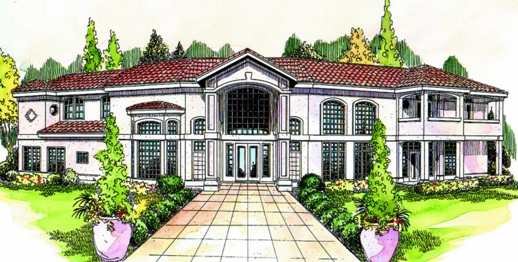 3 Bed, 3 Bath, 3509 Square Foot House Plan - #035-00135
