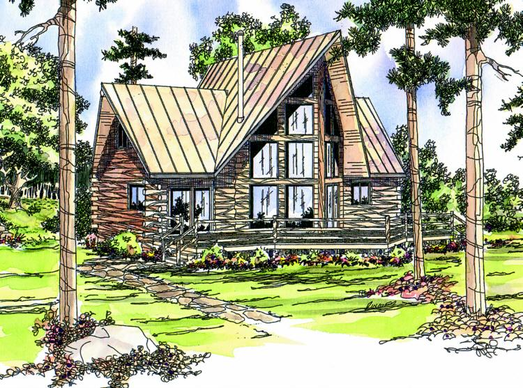 2 Bed, 2 Bath, 1216 Square Foot House Plan - #035-00142