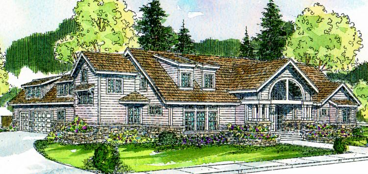 3 Bed, 2 Bath, 3337 Square Foot House Plan - #035-00171