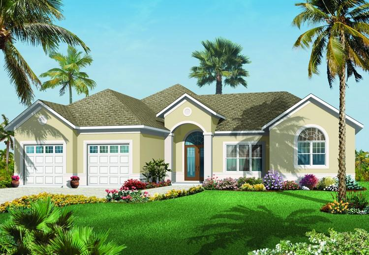 3 Bed, 2 Bath, 2388 Square Foot House Plan - #034-00678