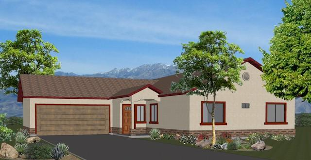 3 Bed, 2 Bath, 1562 Square Foot House Plan - #1982-00002