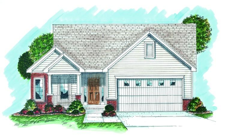 Northwest Plan 1 688 Square Feet 2 Bedrooms 3 Bathrooms