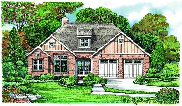 2 Bed, 1 Bath, 1335 Square Foot House Plan - #402-01065