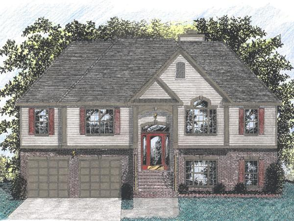 Split Foyer Plan 1459 Square Feet 3 Bedrooms 2 Bathrooms 036