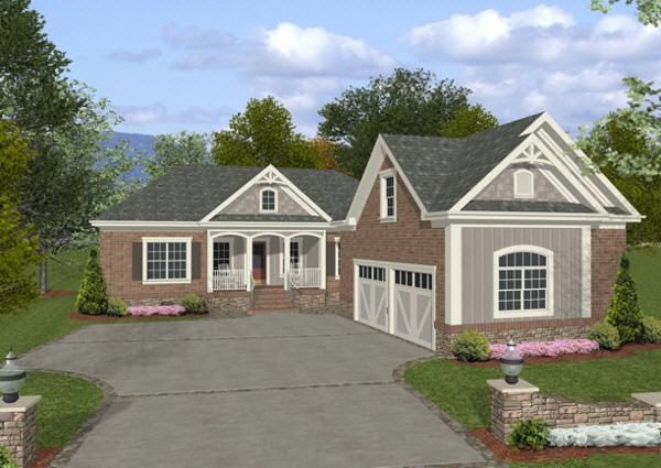 3 Bed, 3 Bath, 1800 Square Foot House Plan - #036-00059