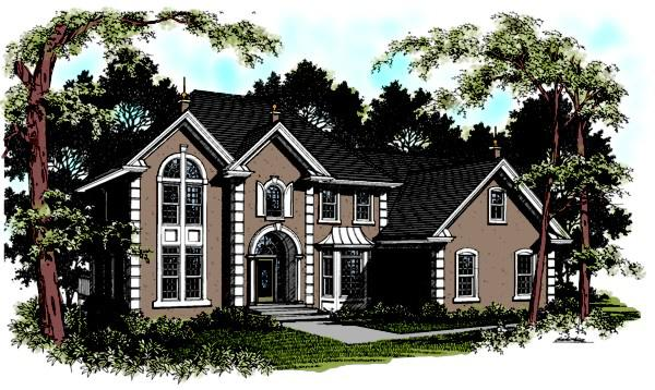 4 Bed, 4 Bath, 2992 Square Foot House Plan - #036-00151