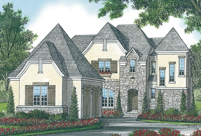 Early American Plan 3 837 Square Feet 4 Bedrooms 3 5