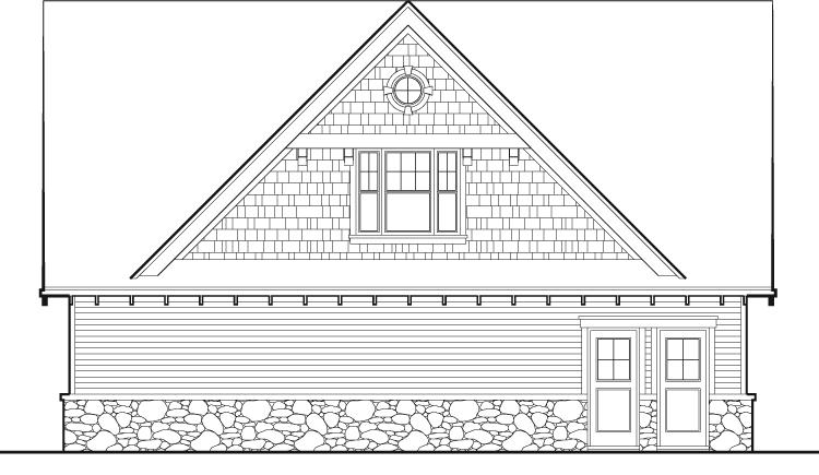 House Plan #2559-00658 Elevation Photo