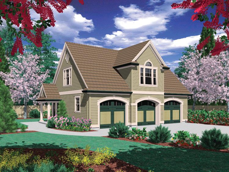 2 Bed, 1 Bath, 885 Square Foot House Plan - #2559-00660