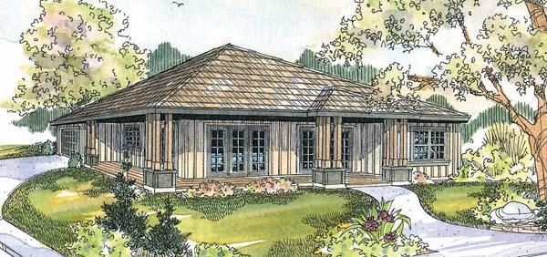 3 Bed, 2 Bath, 1456 Square Foot House Plan - #035-00156