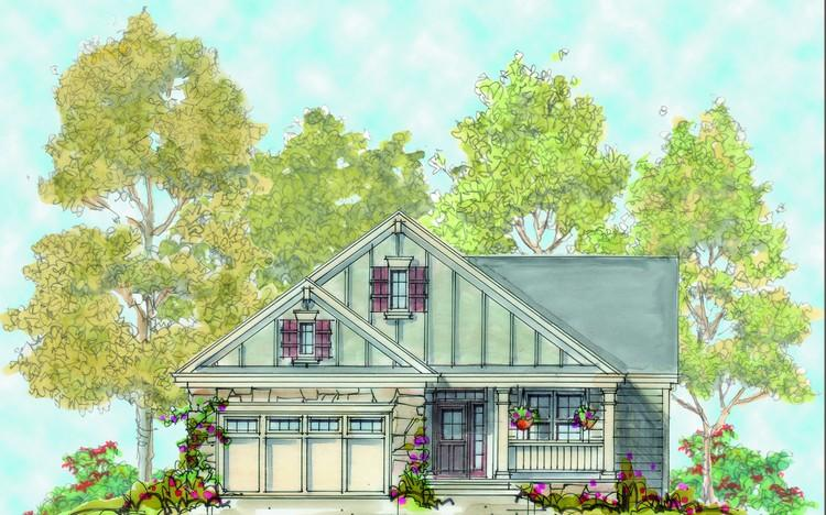 2 Bed, 2 Bath, 1671 Square Foot House Plan - #402-01119